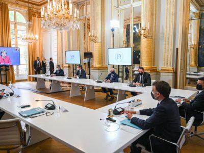 Лідери Франції, Німеччини та України обговорили загострення ситуації в районі ООС