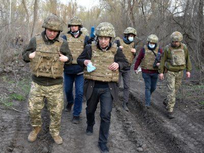 Провідні іноземні журналісти відвідалирайон проведення операції Об'єднаних сил