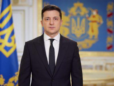 Звернення Президента Володимира Зеленського щодо рішень РНБО, ситуації на Донбасі та підтримки України з боку США