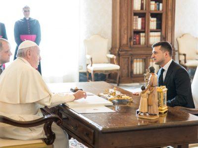«Кожне слово на підтримку України – це збережені життя» – Президент подякував Папі Римському за молитву про мир