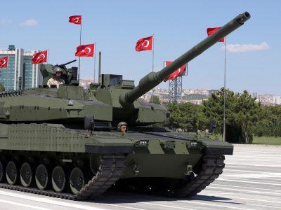 Туреччина проводить польові випробування танка Altay з новою силовою установкою