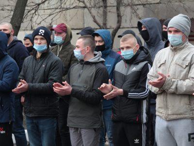 Перші рекрути з Луганщини вирушили на службу