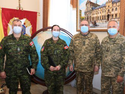Національну академію сухопутних військ відвідала делегація Збройних сил Канади