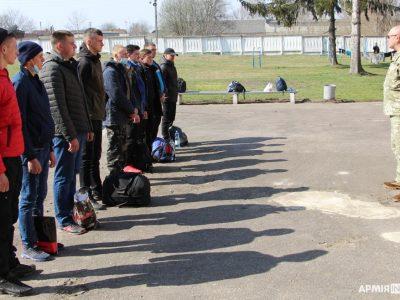 25 % призовників з Рівненщини вже відправлено до військових частин