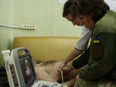 У Маріупольському госпіталі навчали лікарів сучасної методики діагностики пацієнтів у критичному стані