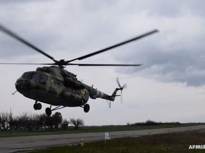 Курсанти здійснили перші вильоти на вертольотах Мі-8
