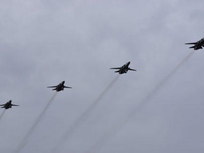 Підготовка бомбардувальників до повітряного параду стартувала