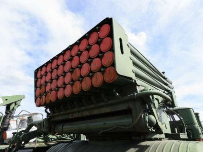 На тимчасово окупованій Луганщині ОБСЄ зафіксувала 22 «Гради» та 18 гаубиць, розміщених із порушенням ліній відведення