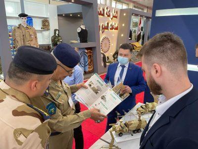 Підприємства «Укроборонпрому» представили свою продукцію на виставці IQDEX-21 в Іраку