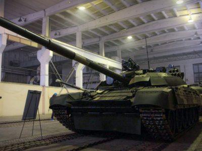 Збройні Сили України достроково отримали партію модернізованих танків Т-72