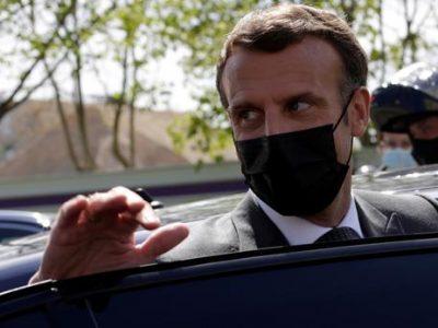 Президент Франції закликав РФ зменшити напруженість на кордонах з Україною і дотримуватися режиму «тиші»