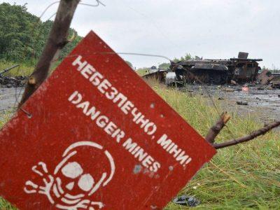 У Сухопутних військах ЗС України відбулися заняття з мінної безпеки