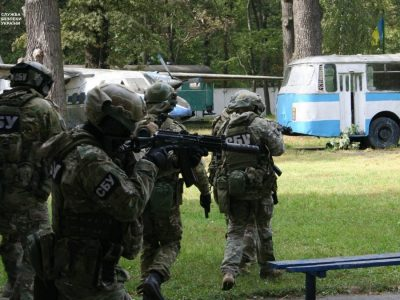 На Харківщині розпочалися масштабні антитерористичні навчання