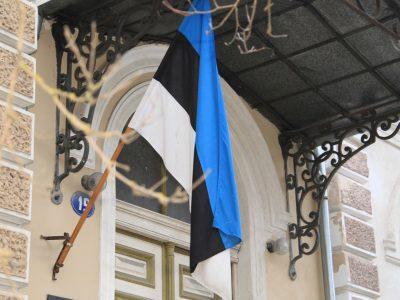 В Естонії на честь Дня ветеранів підійняли державні прапори