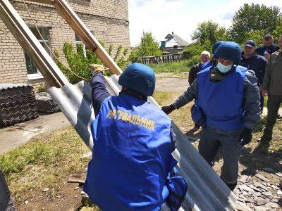 На Донеччині в населених пунктах поблизу лінії розмежування відновлено 280 будинків