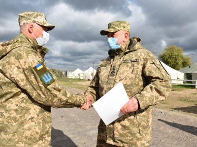 Піхота князівської бригади своє професійне свято відзначила в польових умовах