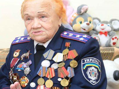 95-річна радистка «Ася», яка рятувала Краків, мешкає у Вінниці