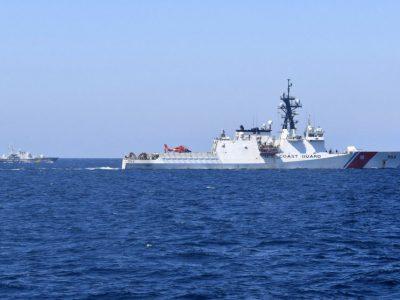 ВМС ЗС України спільно з Береговою охороною США провели в Чорному морі тренування типу PASSEX
