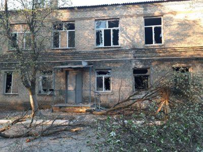 На Донеччині під ворожий обстріл потрапила лікарня з 45 пацієнтами