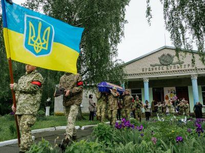 На Житомирщині військовослужбовці взяли участь у перепохованні загиблих воїнів Другої світової війни