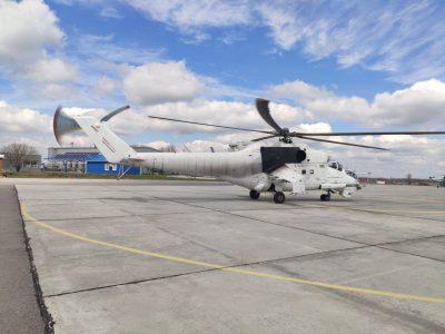 Україна — п'ята держава у світі, спроможна випускати лопаті несучого гвинта для важких вертольотів