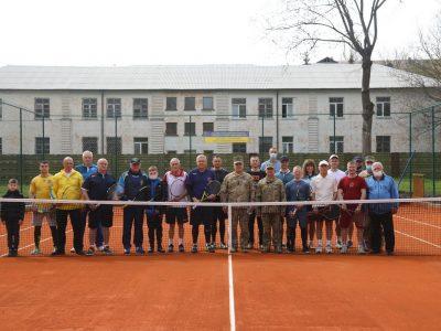 На території Командування Повітряних Сил ЗС України відкрили сучасний тенісний корт