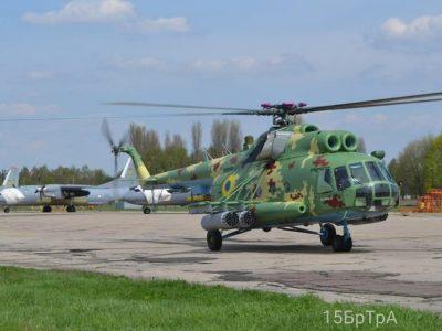 Авіаційний парк вертолітної ескадрильї поповнив Мі-8МСБ-В
