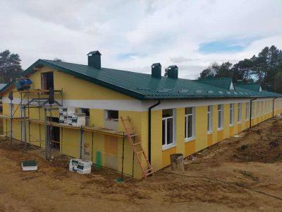 У Старичах до кінця літа планують завершити будівництво казарм