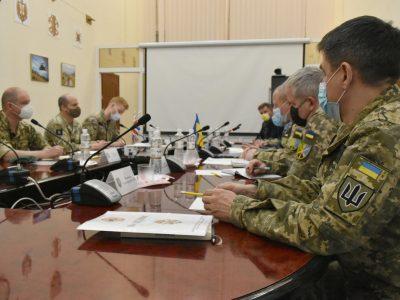 Делегація операції «Орбітал» відвідала Командування Об'єднаних сил ЗСУ
