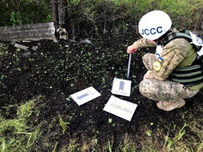 Російсько-окупаційні війська вчергове здійснили обстріл населеного пункту Мар'їнка