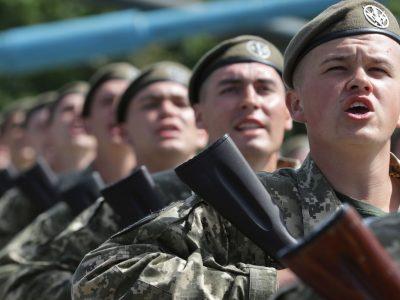 У 101-й окремій бригаді охорони ГШ поповнення: 341 новобранець склав присягу на вірність українському народові