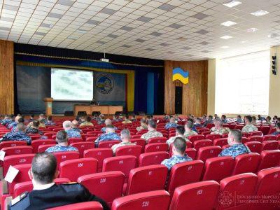 У ВМС ЗС України проведено оперативні збори з командирами підрозділів та представниками інших видів ЗС та силових відомств України
