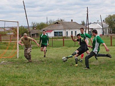 Холодноярці та молодь прифронтового Чермалика позмагались у футбольному турнірі