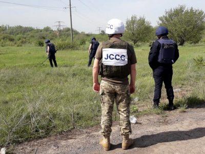 Українська сторона СЦКК сприяє відновленню пошкодженої інфраструктури в районі ООС