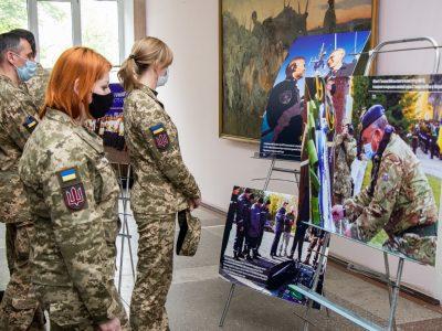 У Національному університеті оборони відкрили спеціалізовану виставку, присвячену співпраці України і НАТО