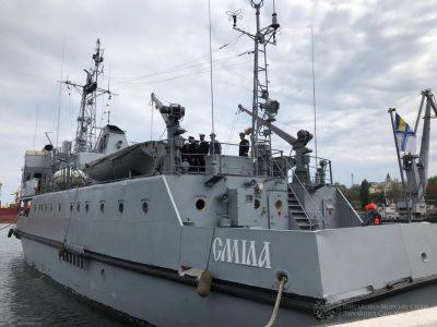 Після десятиденного катерного походу до Одеси повернулися курсанти Інституту Військово-Морських Сил