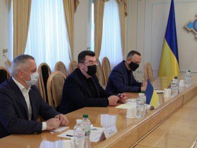 Україна готова посилити співпрацю з країнами Балтії у сфері кібербезпеки – Олексій Данілов