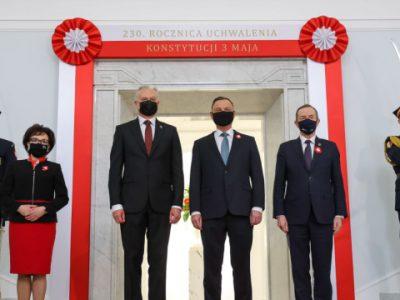 У Варшаві – урочистості до Дня конституції за участю п'яти президентів