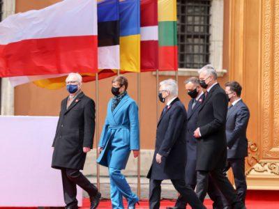 Світ не повинен забувати про ситуацію в Україні – Президентка Естонії