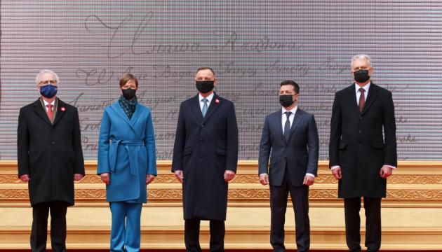 Вступне слово Володимира Зеленського під час дискусії президентів