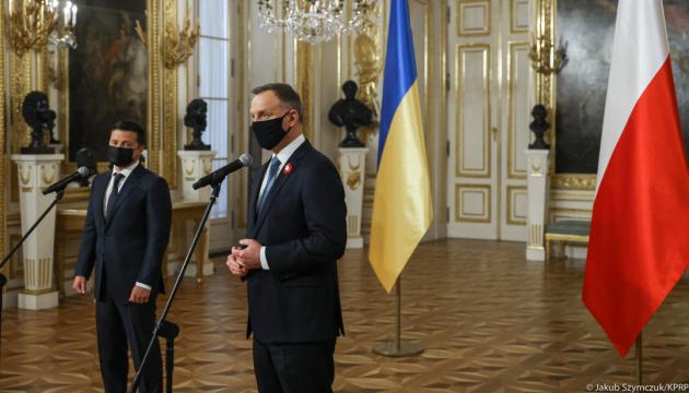 Польща та інші країни НАТО підтримують надання Україні плану дій щодо членства – Анджей Дуда