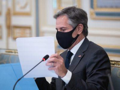 РФ становить загрозу для Європи через війська на кордоні з Україною – Блінкен