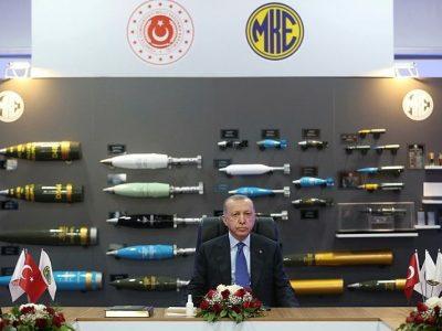 Туреччина побудувала новий боєприпасний завод за рік