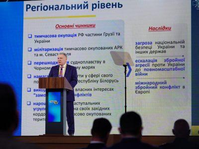 Реалізація чинних проєктів дозволить відновити спроможності ВМС України протягом двох-трьох років, – Андрій Таран