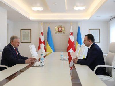 План двостороннього співробітництва між міністерствами оборони України та Грузії підписали Андрій Таран і Джуаншер Бурчуладзе