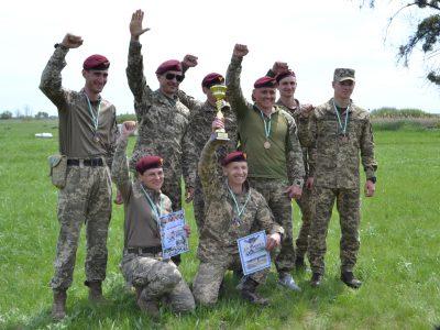 Поліатлоністи змагалися на військовому полігоні Дніпропетровщини