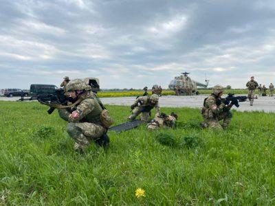 Військовослужбовці ВСП готуються до проходження оцінювання НАТО першого рівня
