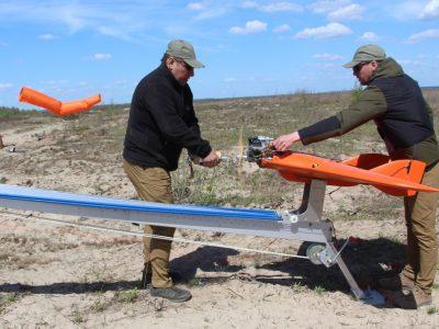 На одному з полігонів ЗСУ випробували імітатор низьколітаючої повітряної цілі українського виробництва