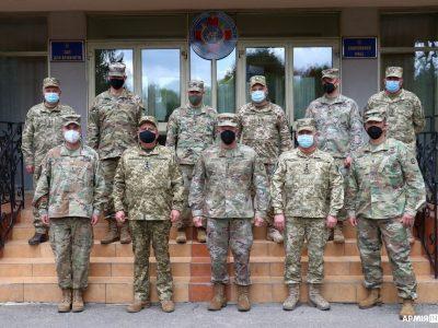 Американські генерали відвідали Міжнародний центр миротворчості та безпеки на Львівщині