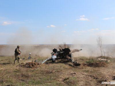 Українські «Рапіри» випробовують боєприпаси чеського виробництва